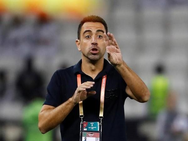 Al-Sadd  coach Xavi Hernandez.
