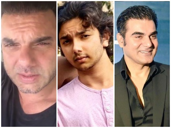 Sohail Khan, Nirvaan Khan and Arbaaz Khan (Image courtesy: Instagram)