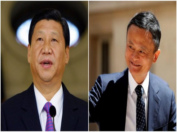 Chinese President Xi Jinping and Chinese billionaire Jack Ma (File Photo)