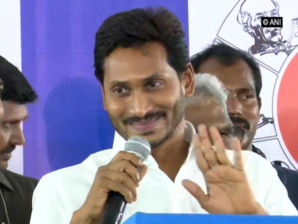 YSR Congress Party chief YS Jagan Mohan Reddy