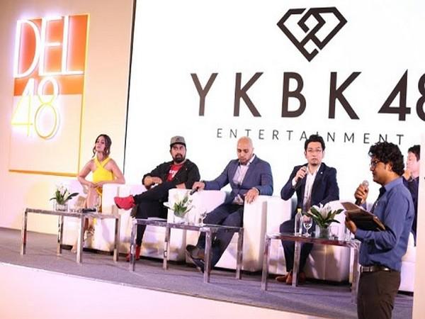 Hina Khan, Ranvijay Singh, Rohit Bakshi at the Event