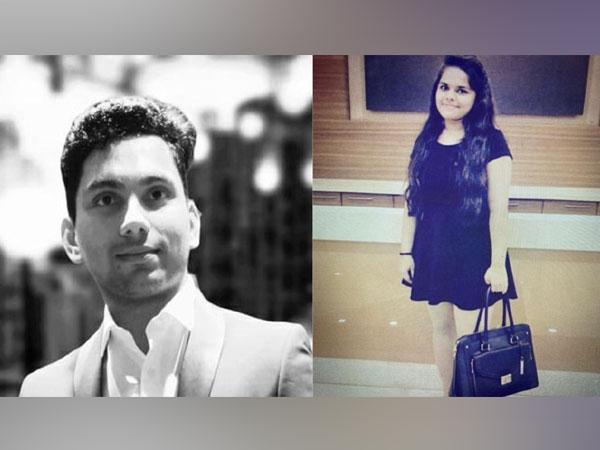 "Hardik Dave and Rashi Joshi, founders of ""Your Learning Platform"" (YLP)"