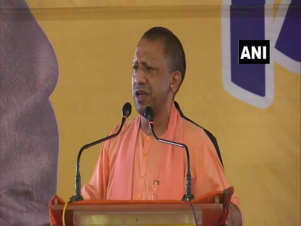 Uttar Pradesh Chief Minister Yogi Adityanath. (Photo/ANI)