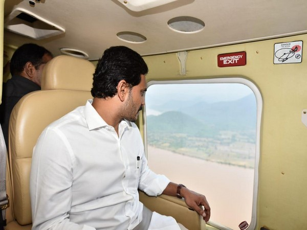 CM conduct an aerial survey of boat capsizes spot