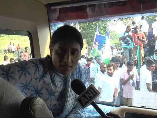 YSR Telangana founder YS Sharmila. (Photo/ANI)