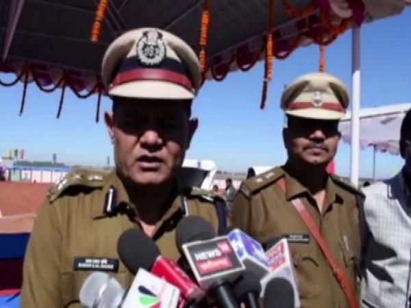 Ratan Lal Dangi speaks to ANI in Chhattisgarh [Photo/ANI]