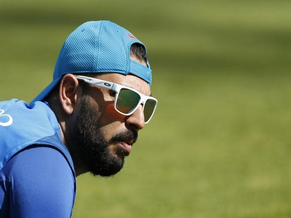 Indian cricketer Yuvraj Singh