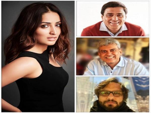 Actor Yami Gautam, filmmakers Behzad Khambata, Ronnie Screwvala, and Premnath Rajagopalan (Image Source: Instagram)
