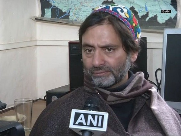 JKLF chairperson Yasin Malik. (File photo)