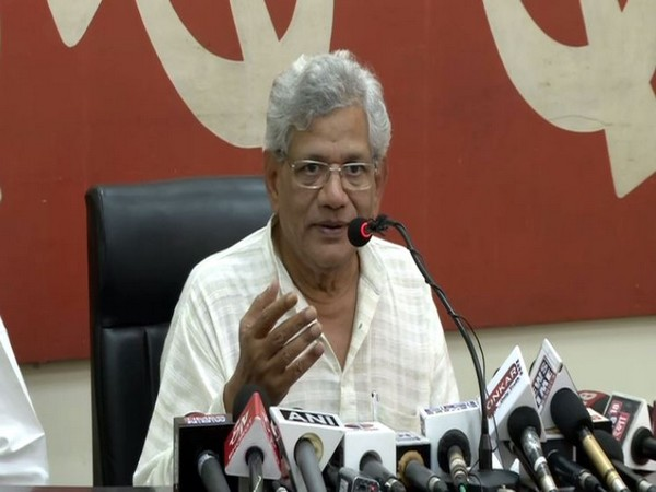 CPM general secretary Sitaram Yechury (Photo/ANI)