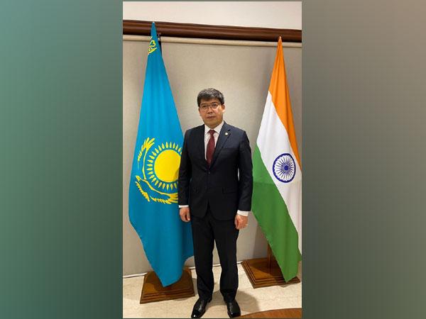 Ambassador of Kazakhstan to India Yerlan Alimbayev
