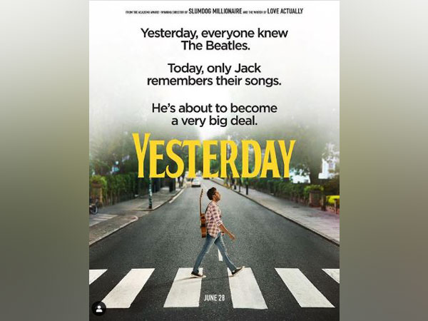 Poster of 'Yesterday' (Image Courtesy: Instagram)