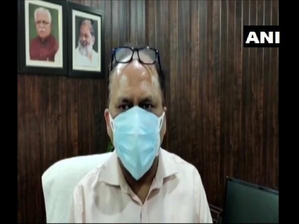 Yogesh Sharma, Civil Surgeon, Karnal. (Photo/ANI)