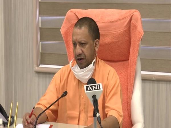 Uttar Pradesh Chief Minister Yogi Adityanath digitally inaugurated TrueNet machines on Friday. (Photo/ANI)
