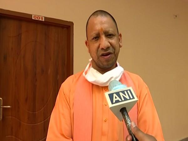 Uttar Pradesh Chief Minister Yogi Adityanath speaking to ANI in Ayodhya on Wednesday. (Photo/ANI)
