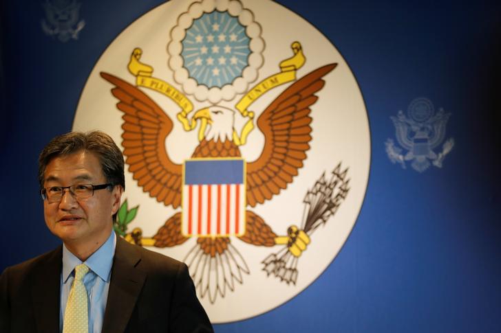 Former US State Department Special Representative for North Korea, Joseph Yun (File photo)