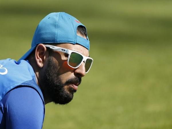 Mumbai Indians' All-rounder Yuvraj Singh