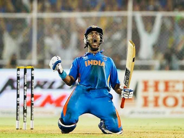 Former India batsman Yuvraj Singh (Photo/ VVS Laxman Twitter)