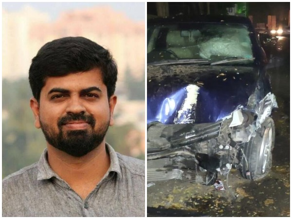 KM Basheer, a Kerala-based journalist killed in a road accident in Thiruvananthapuram on Saturday.