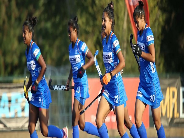Indian Junior Women's Hockey Team defeated the Chile Senior Women's Team 2-1 (Photo/ Hockey India website)