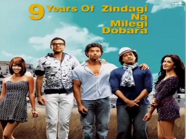 Poster of the film 'Zindagi Na Milegi Dobara' (Image Source: Instagram)