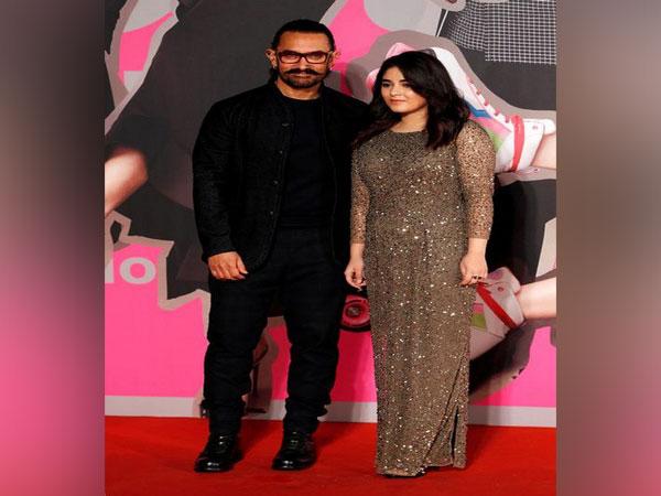 Zaira Wasim and Aamir Khan