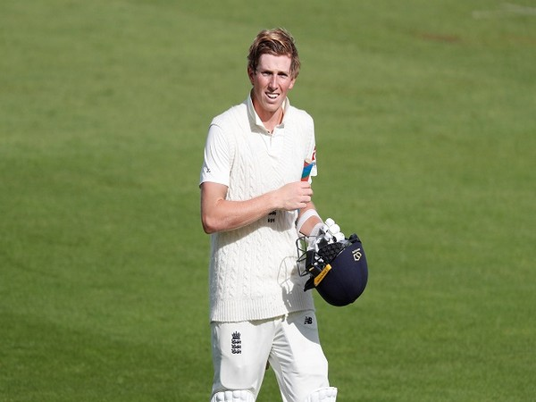 England batsman Zak Crawley