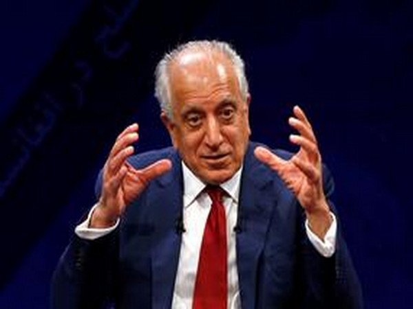 Zalmay Khalilzad, the United States' Special Representative for Afghanistan Reconciliation