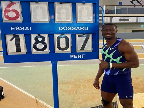 Hugues Fabrice Zango (Photo/ World Athletics Twitter)