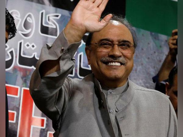 Former Pakistan President Asif Ali Zardari (File pic)
