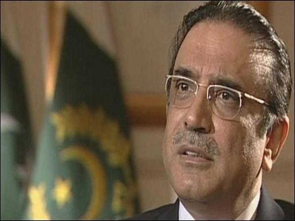 Pakistan former president Asif Ali Zardari