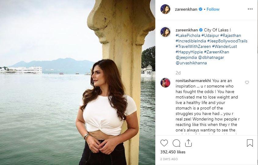 Anushka Sharma extends support to Zareen Khan after trolls mock her body