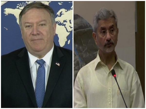 US Secretary of State Michael Pompeo and External Affairs Minister S Jaishankar (File photo)