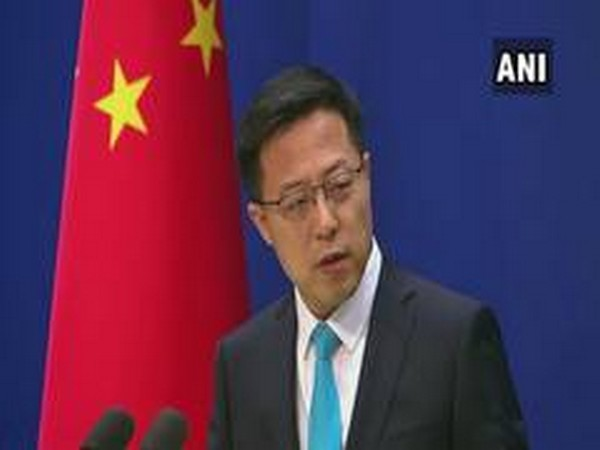 Zhao Lijian, Chinese foreign ministry spokesman (File pic)