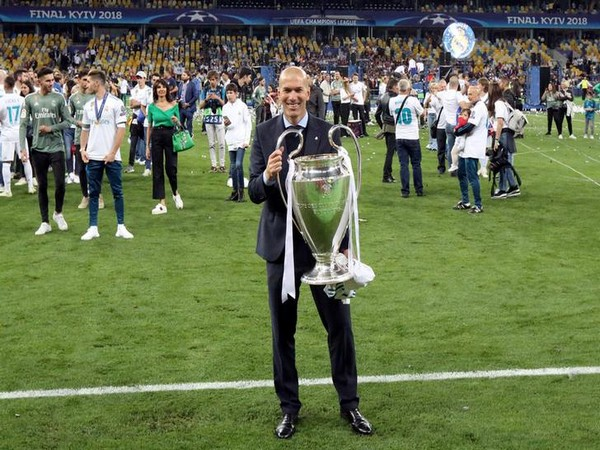 Zidane a coaching great with third straight Champions League win