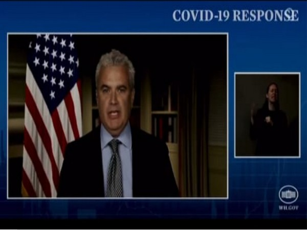 White House COVID-19 response coordinator Jeff Zients.