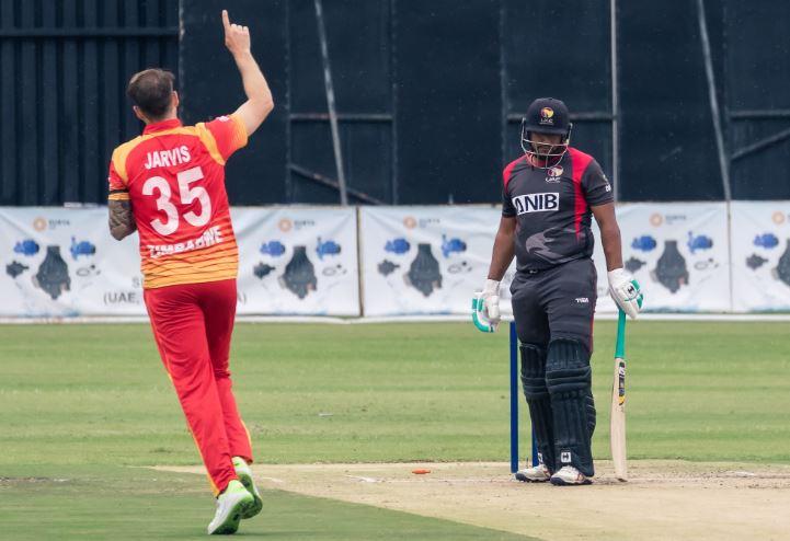 Zimbabwe won third ODI by 131 runs against UAE on Sunday (Photo/ Zimbabwe Cricket Twitter)