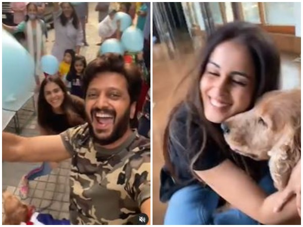 Riteish Deshmukh and Genelia Deshmukh (Image courtesy: Instagram)