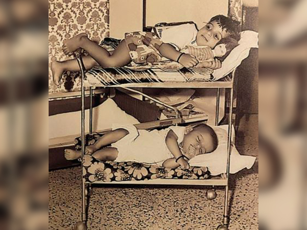 Childhood picture of Farhan and Zoya Akhtar (Image Source: Instagram)
