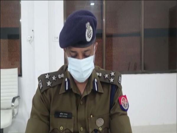 Amit Pathak, Senior Superintendent of Police, Varanasi (Photo/ANI)