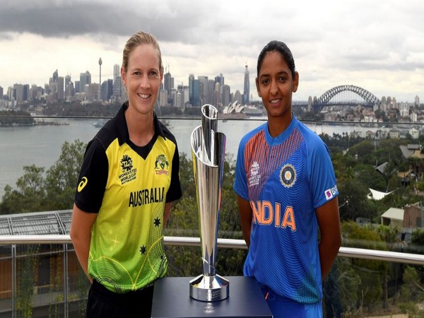 Meg Lanning and Harmanpreet Kaur ahead of Women's T20 World Cup opener (Photo/ T20 World Cup Twitter)