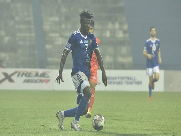 Real Kashmir's striker Lukman Adefemi (Photo/ I-League)