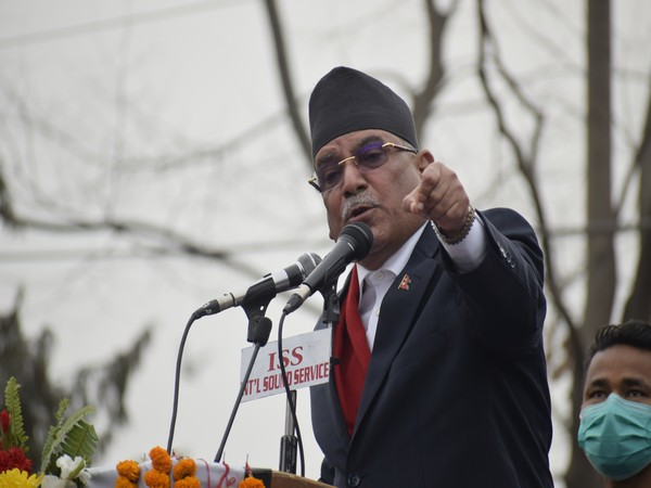 Chairman of ruling Nepal Communist Party's rival faction Pushpa Kamal Dahal