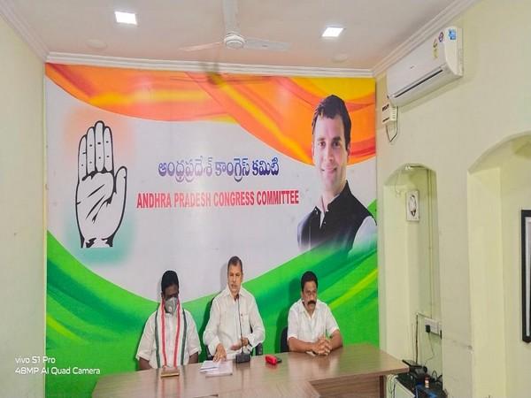 Andhra Pradesh Congress Committee (APCC) working President N Tulasi Reddy (Photo/ANI)