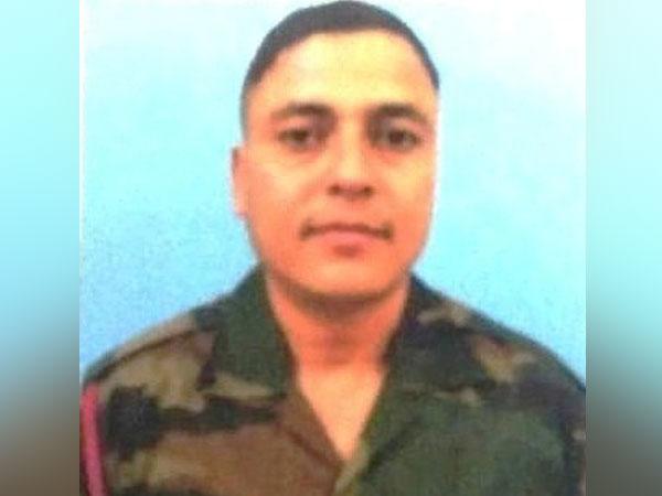 Indian Army soldier Dipak Karki.