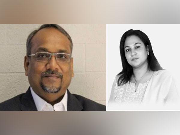 Oracle India's Pradeep Agarwal and his wife Meenu Agarwal.