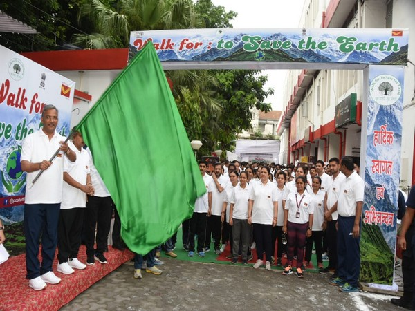 Race walking event flagged off by Uttrakhand Chief Minister Trivendra Singh Rawat in Dehradun on Sunday [Photo/ANI]