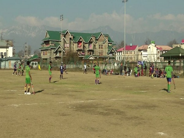 Youth playing hockey (Photo/ANI)