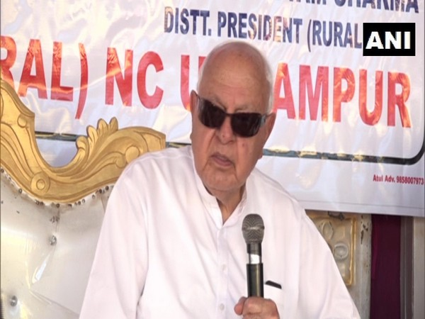 National Conference (NC) president Farooq Abdullah. (Photo/ANI)
