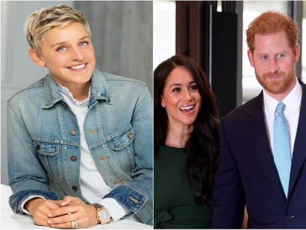 Ellen DeGeneres, Meghan Markle and Prince Harry